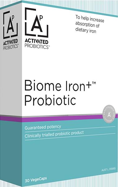 Biome Iron+ Probiotic Product